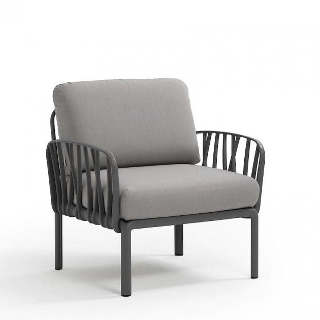 Модульне крісло Komodo Poltrona Antracite Grigio (40371.02.163) - Модульне крісло Komodo Poltrona Nardi