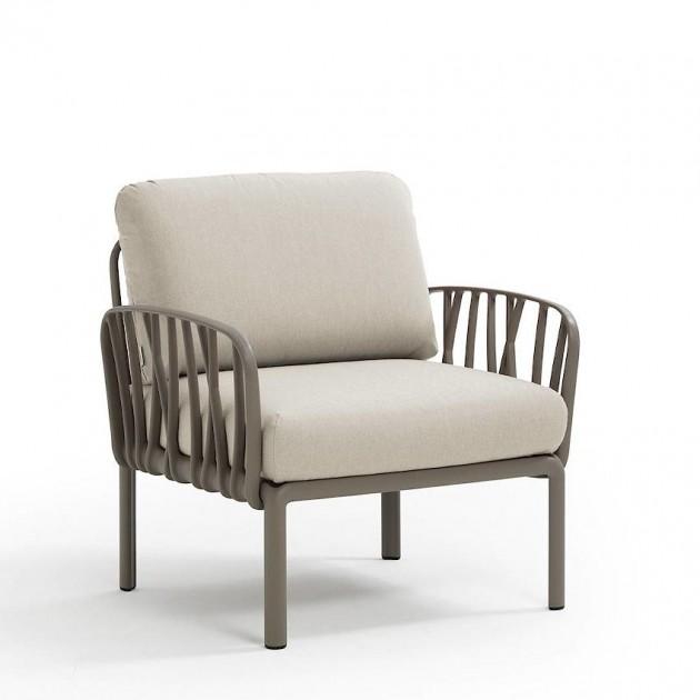 Модульне крісло Komodo Poltrona Tortora Tech Panama (40371.10.131) - Модульне крісло Komodo Poltrona Nardi