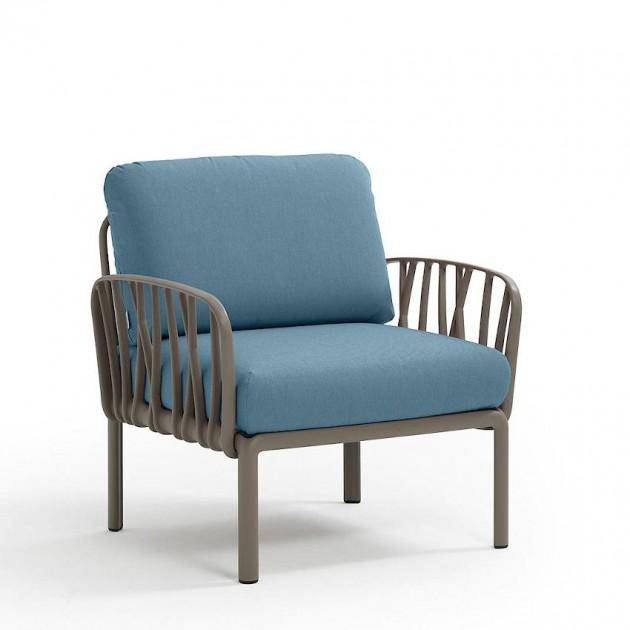 Модульне крісло Komodo Poltrona Tortora Adriatic Sunbrella® (40371.10.142) - Модульне крісло Komodo Poltrona Nardi