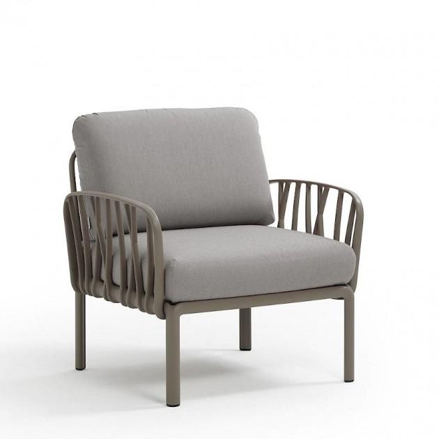 Модульне крісло Komodo Poltrona Tortora Grigio (40371.10.163) - Модульне крісло Komodo Poltrona Nardi