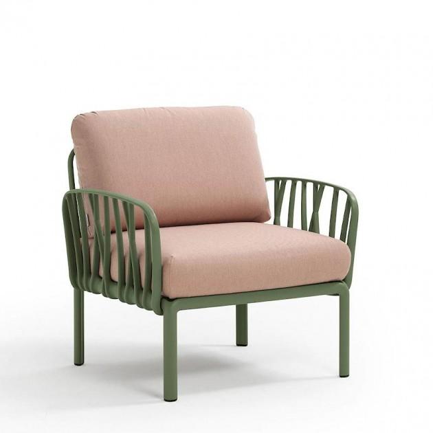 Модульне крісло Komodo Poltrona Agave Rosa Quarzo (40371.16.066) - Модульне крісло Komodo Poltrona Nardi