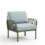 Модульне крісло Komodo Poltrona Agave Ghiaccio Sunbrella® (40371.16.138) - Модульне крісло Komodo Poltrona Nardi