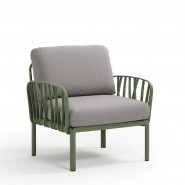 Модульне крісло Komodo Poltrona Agave Grigio (40371.16.163) - Модульне крісло Komodo Poltrona Nardi
