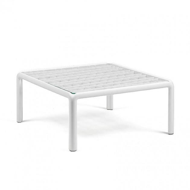 Столик Komodo Tavolino Vetro Bianco (40368.00.501) - Журнальний столик Komodo Tavolino Vetro Nardi