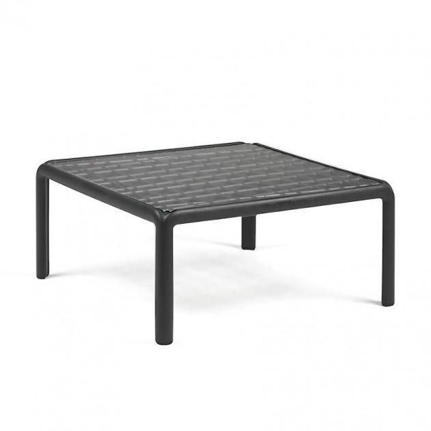 Столик Komodo Tavolino Vetro Antracite (40368.02.501) - Журнальний столик Komodo Tavolino Vetro Nardi