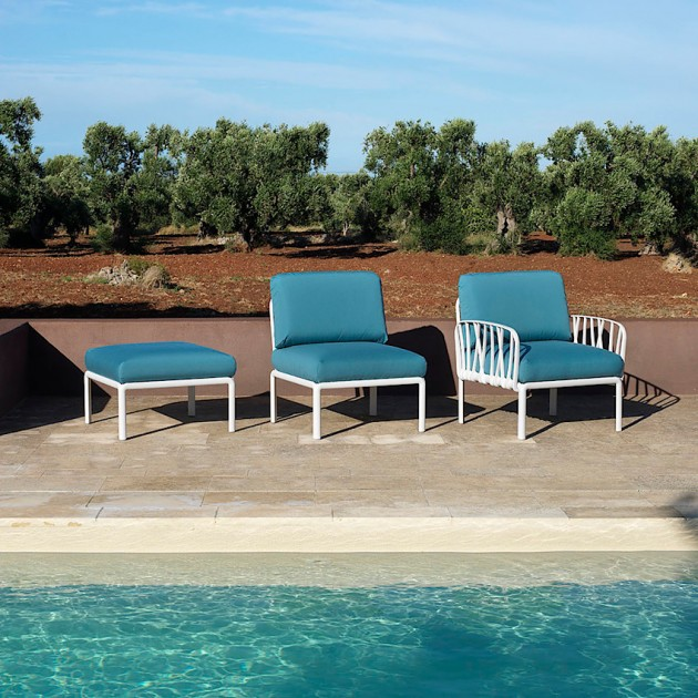 Диван Komodo 5 Bianco Adriatic Sunbrella® (40370.00.142) - Диванний комплект Komodo 5 Nardi