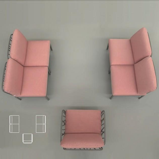 Модульний диван Komodo (40370.10.066) - Модульні комплекти Nardi