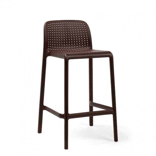 Напівбарний стілець Lido Mini Caffe (40345.05.000) - Вуличні барні стільці Nardi