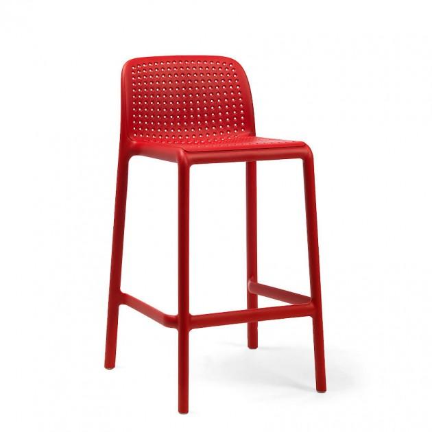 Напівбарний стілець Lido Mini Rosso (40345.07.000) - Вуличні барні стільці Nardi
