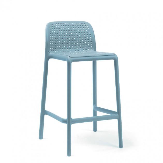 Напівбарний стілець Lido Mini Celeste (40345.39.000) - Вуличні барні стільці Nardi