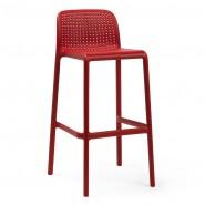 Барний стілець Lido Rosso (40344.07.000) - Вуличні барні стільці Nardi