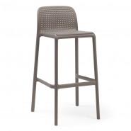 Барний стілець Lido Tortora (40344.10.000) - Вуличні барні стільці Nardi