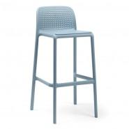 Барний стілець Lido Celeste (40344.39.000) - Вуличні барні стільці Nardi