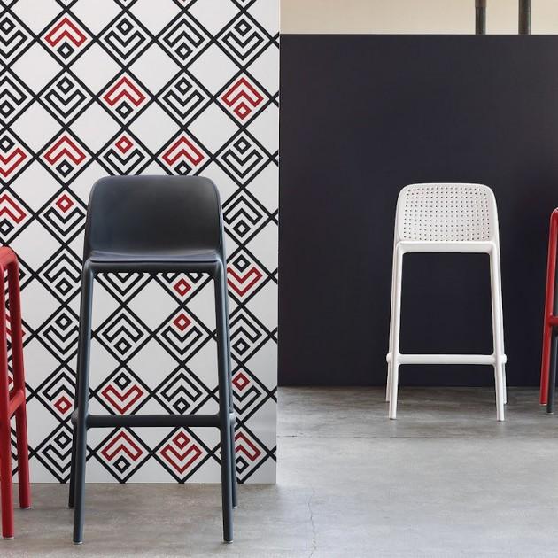 Барний стілець Lido Antracite (40344.02.000) - Вуличні барні стільці Nardi
