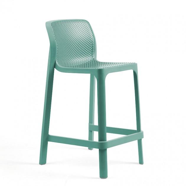 Напівбарний стілець Net mini Salice (40356.04.000) - Вуличні барні стільці Nardi