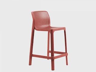 Напівбарний стілець Net mini