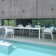 Крісло Net Relax Bianco (40327.00.000) - Крісла для вуличних кафе Nardi