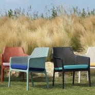 Крісло Net Relax Antracite (40327.02.000) - Крісла для вуличних кафе Nardi