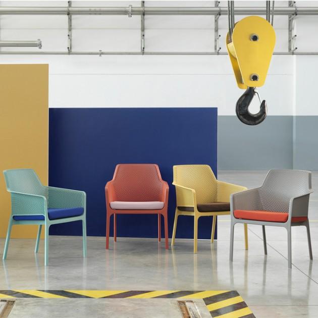 Крісло Net Relax Senape (40327.56.000) - Крісла для вуличних кафе Nardi