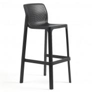 Барний стілець Net Antracite (40355.02.000) - Вуличні барні стільці Nardi