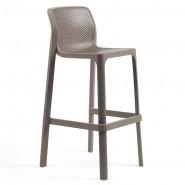 Барний стілець Net Tortora (40355.10.000) - Вуличні барні стільці Nardi