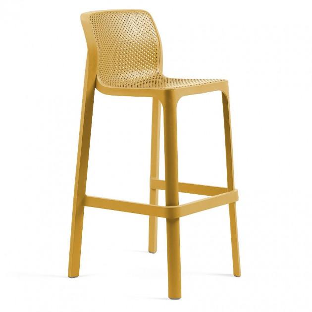 Барний стілець Net Senape (40355.56.000) - Вуличні барні стільці Nardi