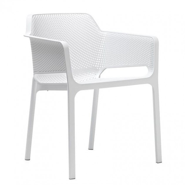 Стілець Net Bianco (40326.00.000) - Стільці для вуличних кафе Nardi
