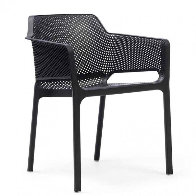 Стілець Net Antracite (40326.02.000) - Стільці для вуличних кафе Nardi