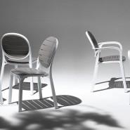 Крісло Palma Bianco (40237.00.000) - Стільці для вуличних кафе Nardi