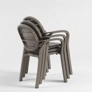 Крісло Palma Antracite (40237.02.002) - Стільці для вуличних кафе Nardi