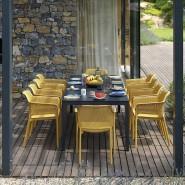 Обідній стіл Rio Alu 210 Tortora (48859.10.000) - Обідні столи Nardi