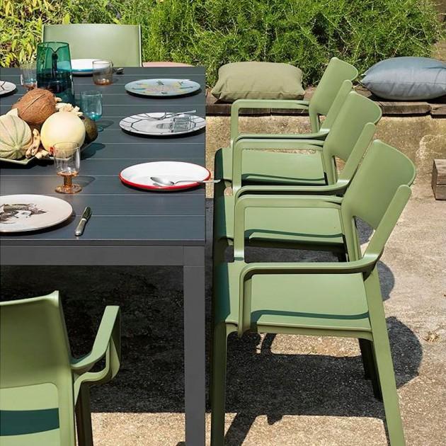 Обідній стіл Rio Alu 210 Bianco (48853.00.000) - Обідні столи Nardi