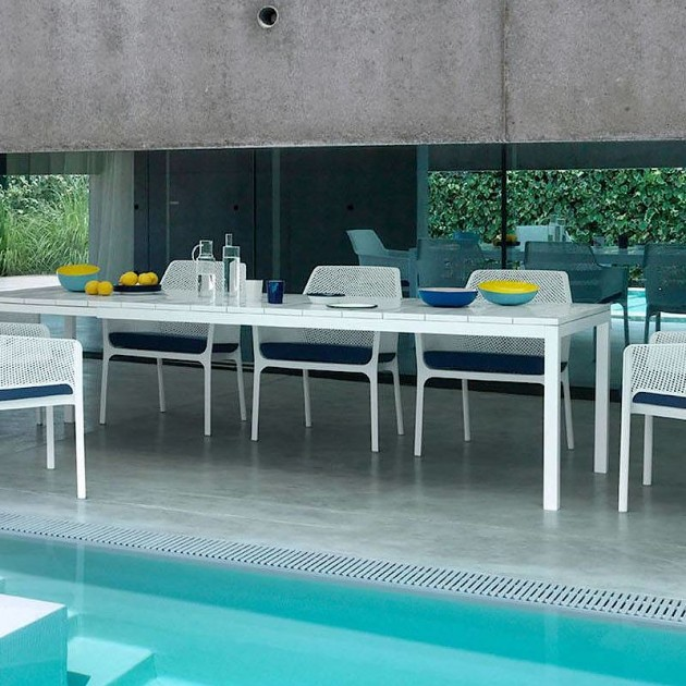 Обідній стіл Rio 210 Bianco (48253.00.000) - Обідні столи Nardi