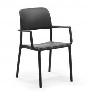 Крісло Riva Antracite (40246.02.000.06) - Вуличні крісла для кафе Nardi