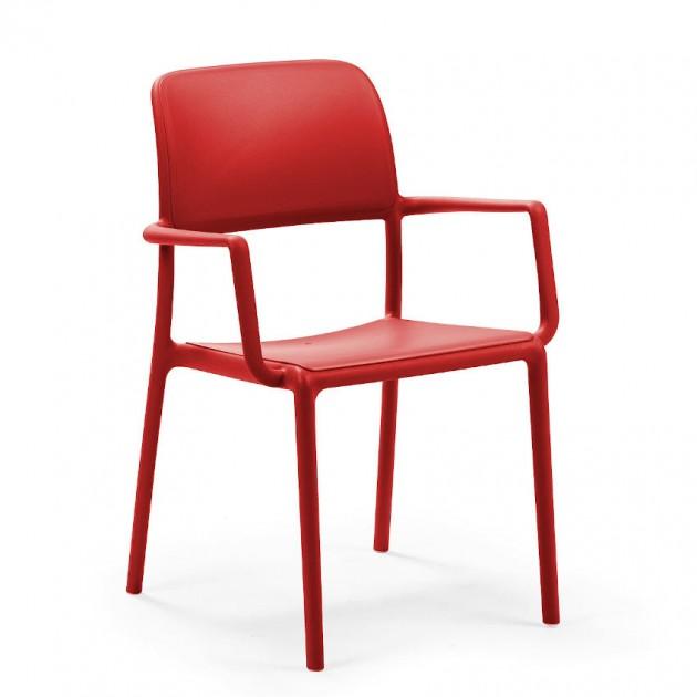 Стілець Riva Rosso (40246.07.000) - Стільці для вуличних кафе Nardi