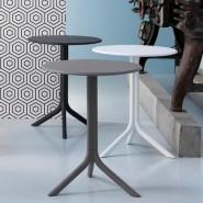 Круглий стіл Spritz Bianco (40058.00.000) - Обідні столи Nardi