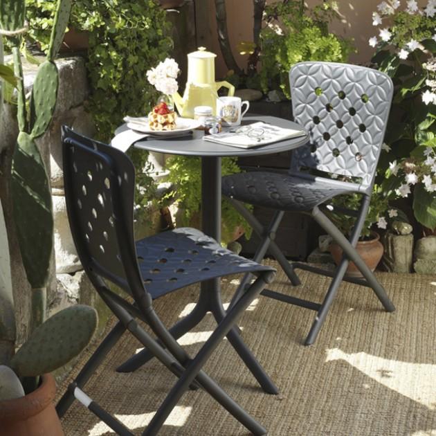 Круглий стіл Spritz Antracite (40058.02.000) - Обідні столи Nardi