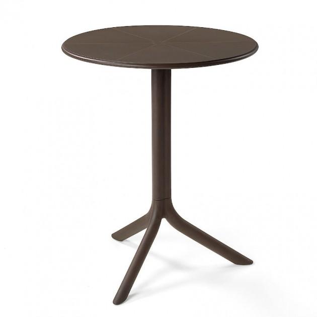 Круглий стіл Spritz Antracite Caffe (40058.05.000) - Обідні столи Nardi