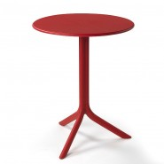 Круглий стіл Spritz Rosso (40058.07.000) - Обідні столи Nardi