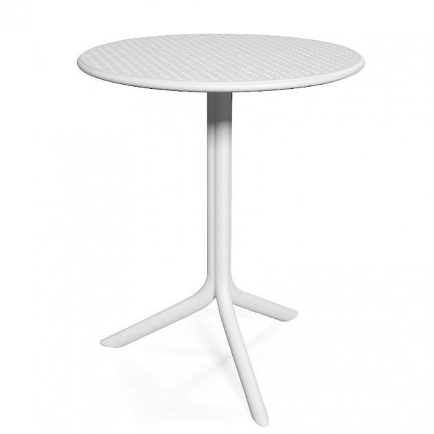 Круглий стіл Step Bianco (40056.00.000) - Обідні столи Nardi