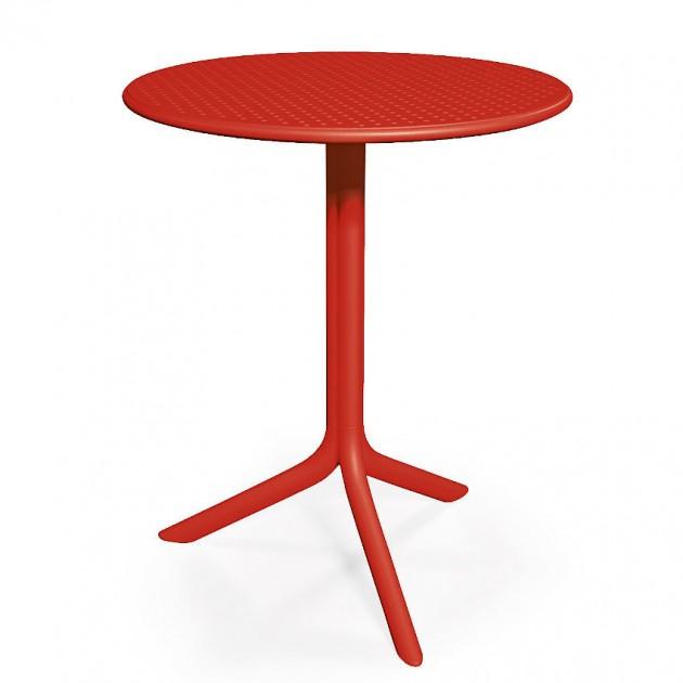 Круглий стіл Step Rosso (40056.07.000) - Обідні столи Nardi