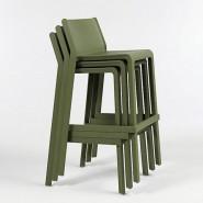Барний стілець Trill Bianco (40350.00.000) - Вуличні барні стільці Nardi