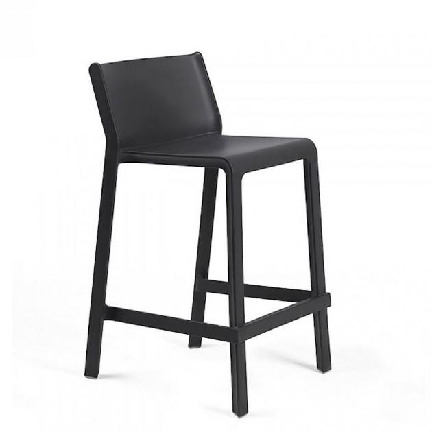 Напівбарний стілець Trill mini Antracite (40353.02.000) - Вуличні барні стільці Nardi