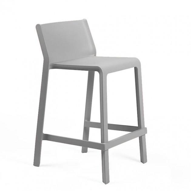 Напівбарний стілець Trill mini Grigio (40353.03.000) - Вуличні барні стільці Nardi