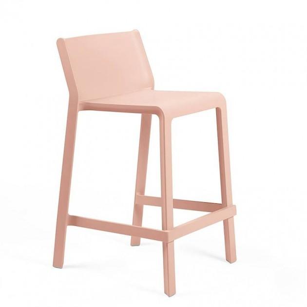 Напівбарний стілець Trill mini Rosa Bouquet (40353.08.000) - Вуличні барні стільці Nardi