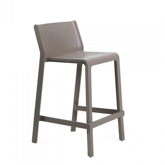 Напівбарний стілець Trill mini Tortora (40353.10.000) - Вуличні барні стільці Nardi