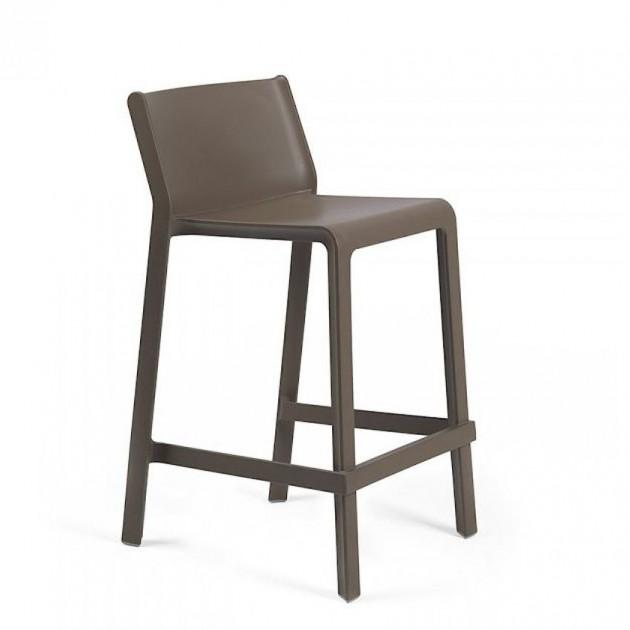 Напівбарний стілець Trill mini Tabacco (40353.53.000) - Вуличні барні стільці Nardi