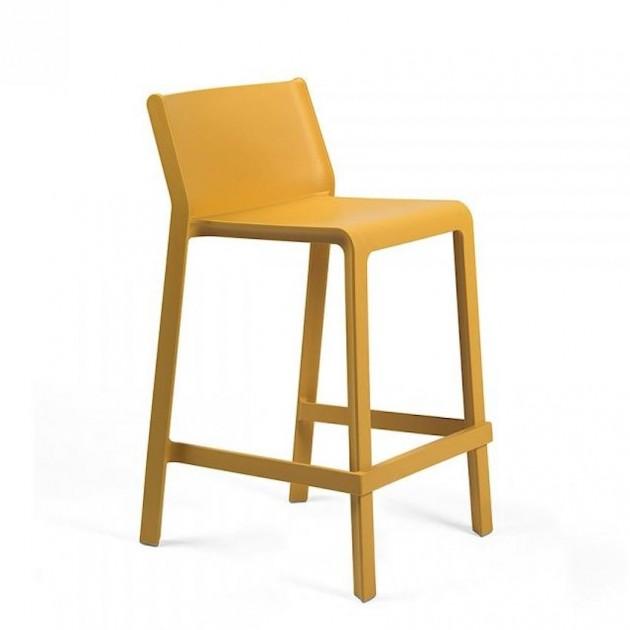 Напівбарний стілець Trill mini Senape (40353.56.000) - Вуличні барні стільці Nardi