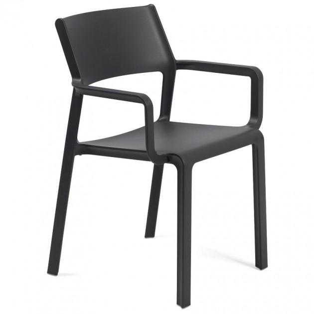 Крісло Trill Antracite (40250.02.000) - Вуличні крісла для кафе Nardi