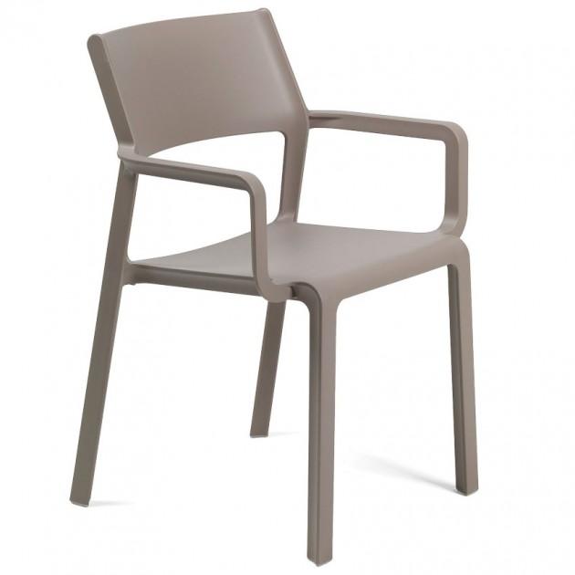 Крісло Trill Tortora (40250.10.000) - Вуличні крісла для кафе Nardi